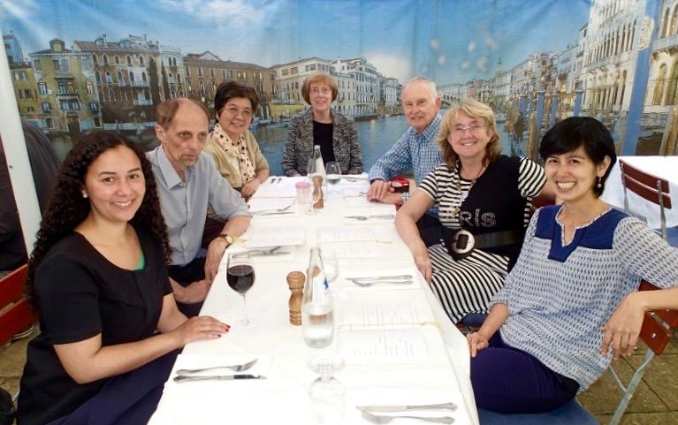 2016年慕尼黑年會,與國際友人聚餐